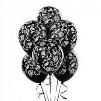 Связка черных шаров Дамаск