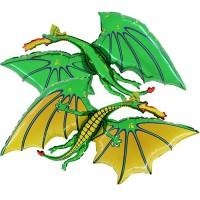 Фигура зеленый дракон