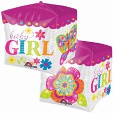 Куб на рождение девочки