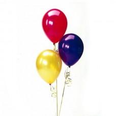 Набор из 3 разноцветных воздушных шаров одного размера
