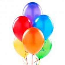 Набор из 7 разноцветных воздушных шаров
