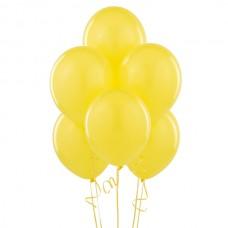 Набор из 5 желтых воздушных шаров одного размера