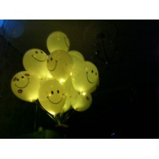 Светящиеся шары смайлы