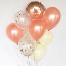 Букет шаров Розовый гламур