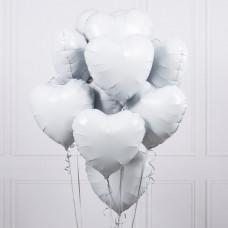 Букет шаров Белоснежный