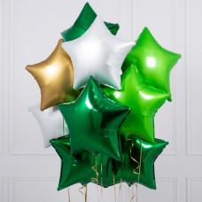 Букет шаров Зеленое богатство