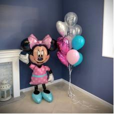 Минни Маус с шариками