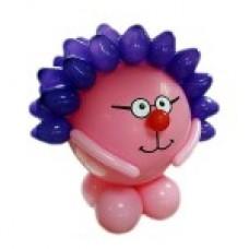 Смешарик Ёжик из воздушных шаров