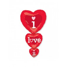 Тройное сердце Я люблю тебя