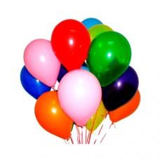 Набор из 15 разноцветных воздушных шаров