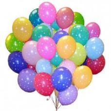 Набор из 35 разноцветных шаров